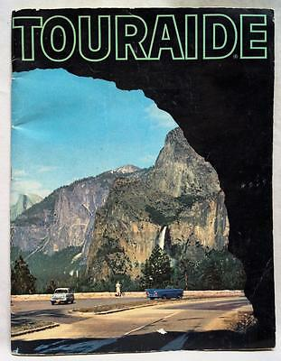 Conoco Oil Company Touraide United States Canada Mexico Highway Road Atlas 1959