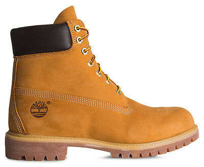 "Timberland Men's 6"" Premium Boots - Wheat"