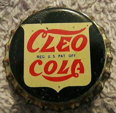 CLEO COLA soda bottle cap unused cork