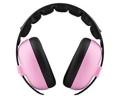 Baby Banz Protective Earmuffs 3 Months+ - Baby Pink