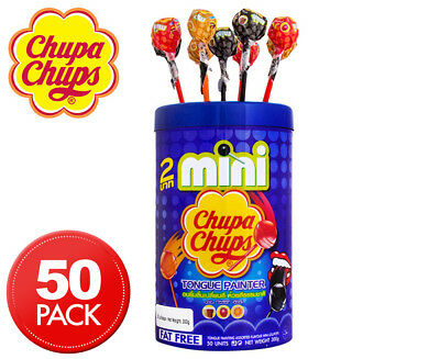 Mini Chupa Chups Tongue Painter 50pk