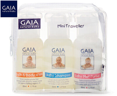 Gaia Natural 3-Piece Mini Baby Traveller Kit
