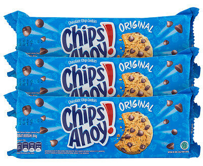 3 x Chips Ahoy! Original Chocolate Chip Cookies 84g