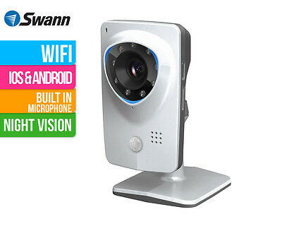 SwannCloud ADS-456 HD Plug & Play WiFi Security Camera