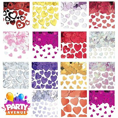 Heart Confetti Valentines Day Love Wedding Engagement Table Decorations