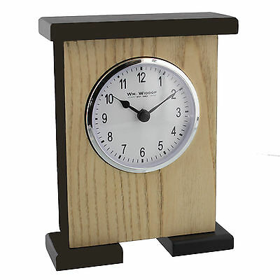 Carriage Shape Design Wooden Mantel Clock with Arabic Numbers