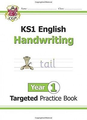 New KS1 English Targeted Practice Book: Handwriting - Year 1 SuperFast Delivery