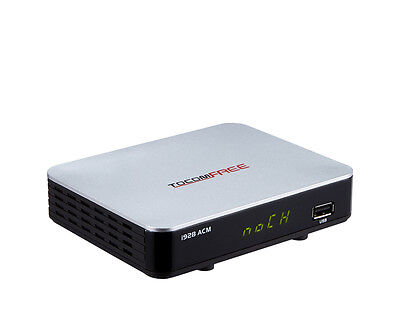 TOCOMFREE i928 ACM HD IPTV PVR 3G FTA SATELLITE RECEIVER HDMI IKS SKS wifi