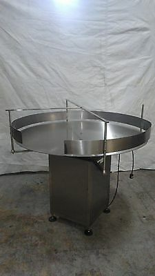 """Accumulation Rotary Table 47"""" Diameter- Stainless Steel"""