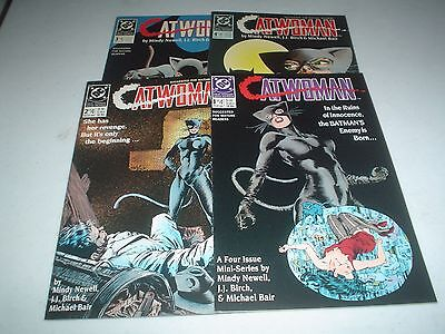 CATWOMAN Mini-Series 1-4 Complete Set 1989 High Grade NM