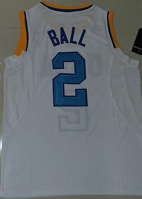 huge discount 5f800 46ac6 UCLA BRUINS LONZO Ball Stitched Authentic Jersey #2