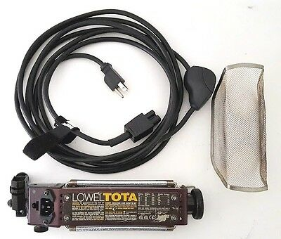 Lowel T1101 Tota Light with 16' Power Cord w/switch & Safety Screen - Very Nice