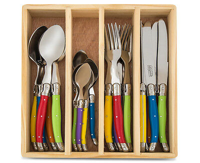Lagioule Chateau 24-Piece Cutlery Set - Multi