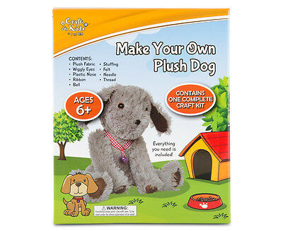 Craft for Kids Make Your Own Plush Dog