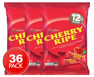 3 x Cadbury Cherry Ripe Share Pack 180g