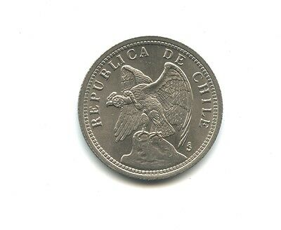 1933 Silver 1 Peso, Chile, Great Looking coin!!