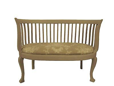 Gustavian Style Sette & Chair Fireside Loveseat/Chair French Farmhouse Painted T