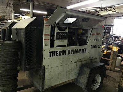 (2) 2012 Therm Dynamics TD500 Flameless Heaters