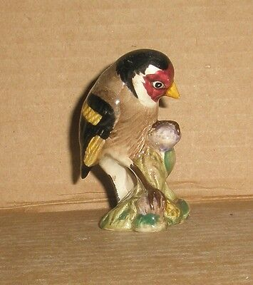 Beswick bird figurine/ Goldfinch