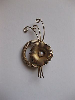 Fashion Jewellery Gold Tone  Brooch   New