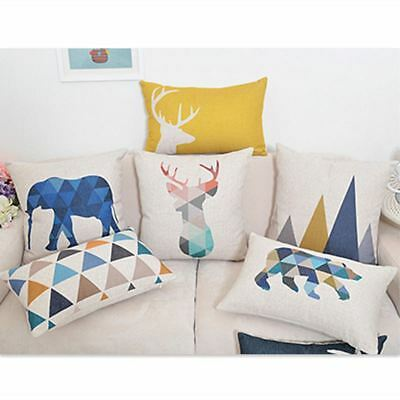 Animals printing Home Decorative Pillow Covers Room Decors Car Throw Cushion Cov
