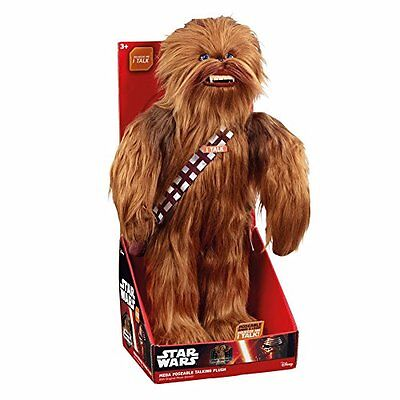 "Underground Toys Star Wars Super Deluxe Realistic Chewbacca 24"" Plush"