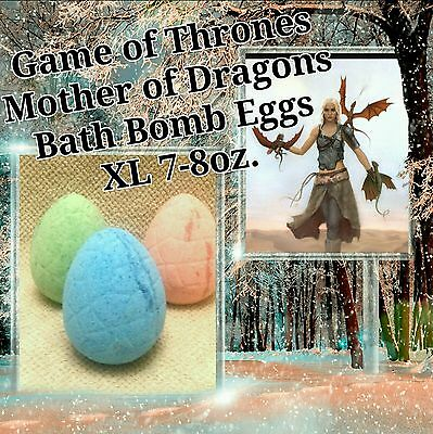 Game of Thrones Mother of Dragons Bath Bomb Egg XL 2 x Ultra Lush assorted scent