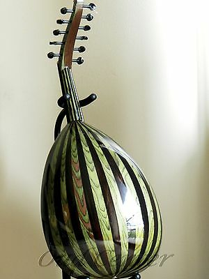 New Turkish Oud + Soft Case and Pick Oriental Fretless Guitar (blemished)