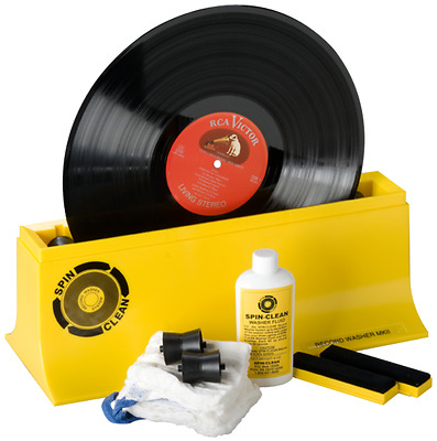 Vinyl Record Cleaning Machine Spin-Clean Record Washer System MK II