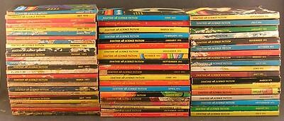 Lot Of 63 Vintage Issues Fantasy And Science Fiction Magazine 1970's