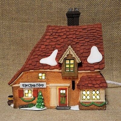 New Department 56  Dickens Village Series The Chop Shop / Wrenbury Shops 5658331