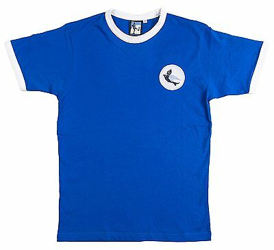 Old School Football Cardiff City 1960s Retro Football T-Shirt, Size- L