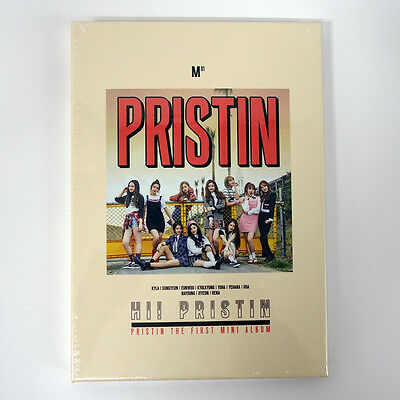 PRISTIN - HI! PRISTIN (The 1st Mini Album) [Prismatic ver.] CD+Booklet+2 Poster