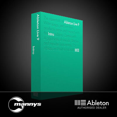 Ableton Live 9 Intro Music Production Software
