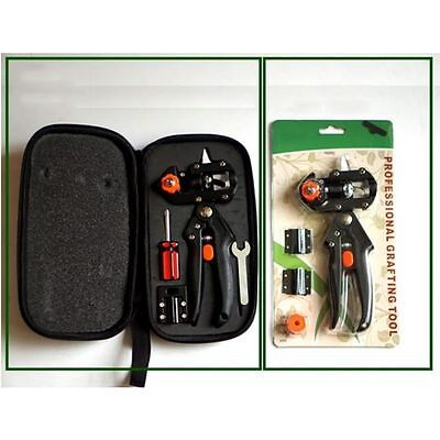 Garden Nursery Grafting Cutting Tools Sets Fruit Tree Pro Pruning Shears Scissor
