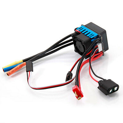 120A 2-6S Brushless Waterproof ESC with BEC 6.1V/3A for 1/8 Racing Car