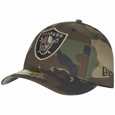 New Era 59Fifty LOW PROFILE Cap - Oakland Raiders wood camo