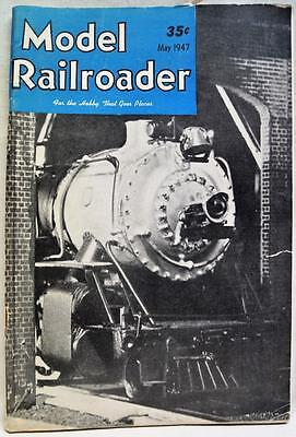 The Model Railroader Magazine May 1947 Vintage Train Railroad Collecting Hobby