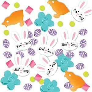 34g of Easter eggs, bunny heads, flower heads Confetti