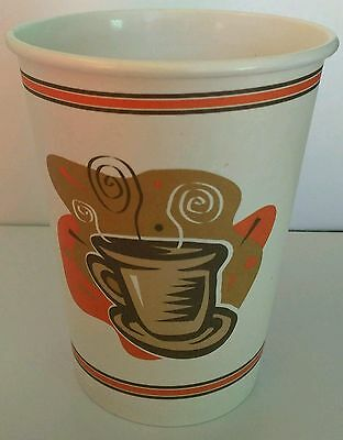 12 oz  300 Paper Coffee Cup/Disposable Hot Cups only - No LIDS