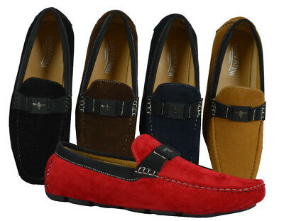 Men's Giovanni Dress Shoe Driving Moccasin Wedding Loafer Italian Casual M788-39