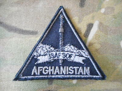 ISAF SOF SPECIAL OPERATIONS FORCES  Afghanistan PATCH badge IN COUNTRY MADE