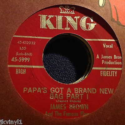 James Brown & The Famous Flames-Papa's Got A Brand New Bag-Parts 1&2. King 5999