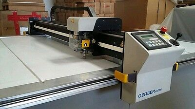 Gerber DCS 1500 NEW with windows 7 cutworks 8.0.0 table 5X8