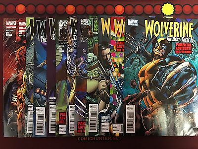 Wolverine The Best There Is #1,2,3,4,5,6,7,8,9,10,11,12 Huston Juan Jose Ryp Set