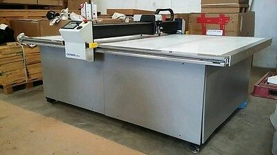 Gerber DCS 1500 New in crate 6X8 2015 this machine is new win. 7 cutworks 8.0.0