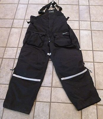 Clam Ice Armor Insulated Ice Fishing Snowmobile Cold Weather Arctic Bibs 2XL XXL