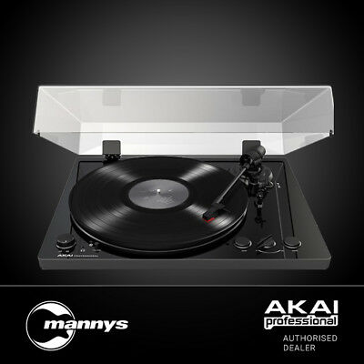 Akai BT100 Premium Performance Belt-Drive Turntable (Black)
