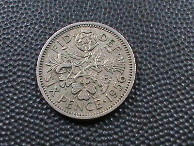 GREAT  BRITAIN    6  Pence   1956