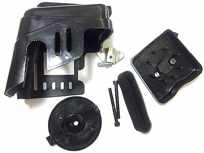 43cc MOTOVOX AIR FILTER CLEANER COVER KIT ASSEMBLY WITH BOLTS MVS10 GAS SCOOTER